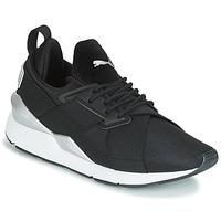 Pantofi Femei Pantofi sport Casual Puma WN MUSE SATIN II.BLACK Negru