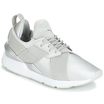 Pantofi Femei Pantofi sport Casual Puma WN MUSE SATIN II.GRAY Gri