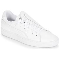 Încăltăminte Femei Pantofi sport Casual Puma WN BASKET CRUSH EMBOSS.WH Alb