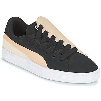 Pantofi Femei Pantofi sport Casual Puma WN BASKET CRUSH PARIS.SILV Negru