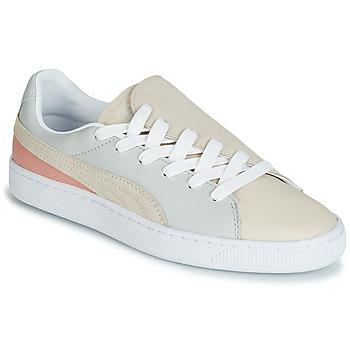 Pantofi Femei Pantofi sport Casual Puma WN BASKET CRUSH PARIS.GRAY Bej