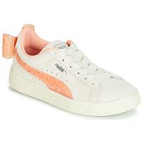 Pantofi Fete Pantofi sport Casual Puma PS SUEDE BOW JELLY AC.WHIS Bej