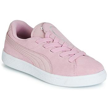 Pantofi Fete Pantofi sport Casual Puma PS SUEDE CRUSH AC.LILAC Lila