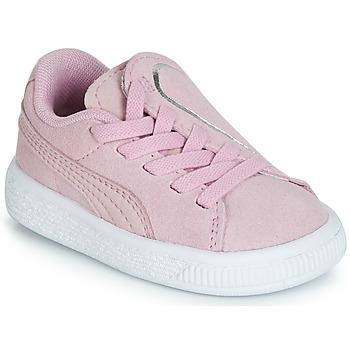 Pantofi Fete Pantofi sport Casual Puma INF SUEDE CRUSH AC.LILAC Lila