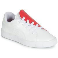 Pantofi Fete Pantofi sport Casual Puma PS BKT CRUSH PATENT AC.W-H Alb