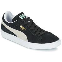 Pantofi Pantofi sport Casual Puma SUEDE CLASSIC + Negru / Alb