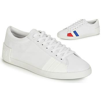Pantofi Femei Pantofi sport Casual Le Coq Sportif FLAG Alb