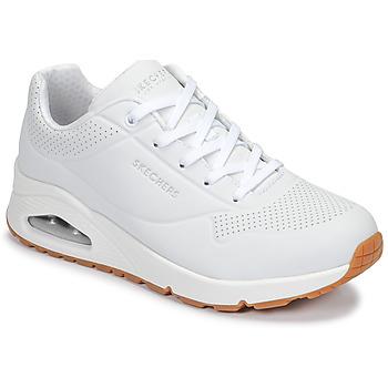 Încăltăminte Femei Pantofi sport Casual Skechers UNO Alb