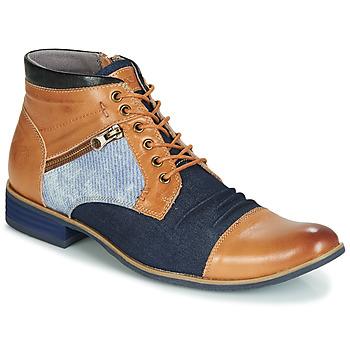 Pantofi Bărbați Ghete Kdopa ALMERIA Camel / Albastru