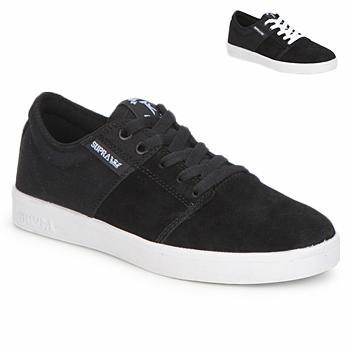Încăltăminte Pantofi sport Casual Supra STACKS II Negru / Alb