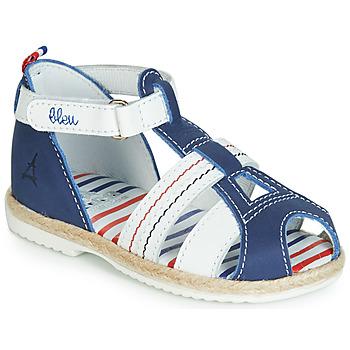 Pantofi Copii Sandale și Sandale cu talpă  joasă GBB COCORIKOO Albastru