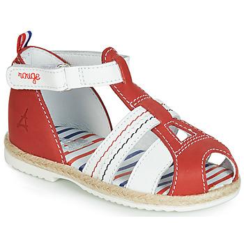 Încăltăminte Copii Sandale și Sandale cu talpă  joasă GBB COCORIKOO Vte / Roșu / Dpf / Isa