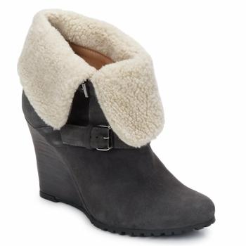 Pantofi Femei Botine Atelier Voisin CARLA Gri