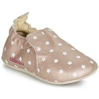 Pantofi Fete Papuci de casă Catimini CARA Roz / Gold