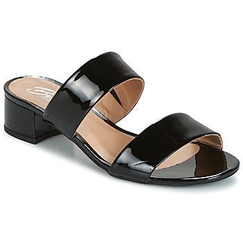 Pantofi Femei Papuci de vară Betty London BAMALEA Negru / Verni