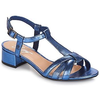 Încăltăminte Femei Sandale și Sandale cu talpă  joasă Betty London METISSA Albastru