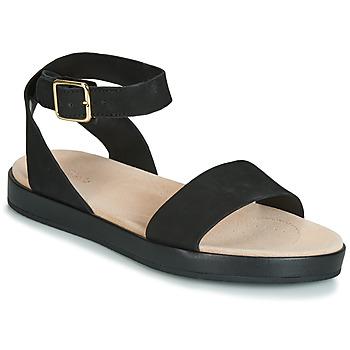 Pantofi Femei Sandale  Clarks BOTANIC IVY Negru