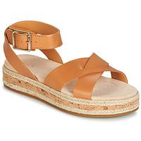 Pantofi Femei Sandale și Sandale cu talpă  joasă Clarks BOTANIC POPPY Maro