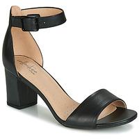 Pantofi Femei Sandale  Clarks DEVA MAE Negru