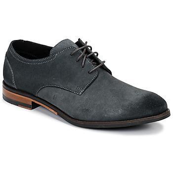 Pantofi Bărbați Pantofi Derby Clarks FLOW PLAIN Gri