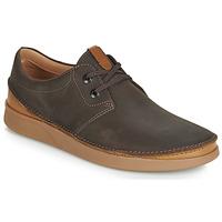 Pantofi Bărbați Pantofi Derby Clarks OAKLAND LACE Maro