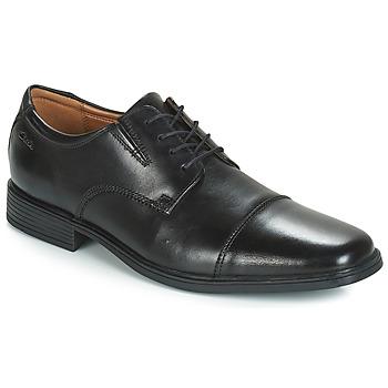 Pantofi Bărbați Pantofi Derby Clarks TILDEN CAP Negru