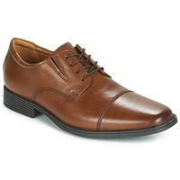 Pantofi Bărbați Pantofi Derby Clarks TILDEN CAP Maro