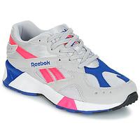 Încăltăminte Pantofi sport Casual Reebok Classic AZTREK Bej / Albastru