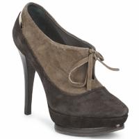 Pantofi Femei Botine Alberto Gozzi CAMOSCIO ARATY Maro