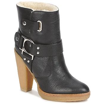 Pantofi Femei Botine Belle by Sigerson Morrison ZUMA Black