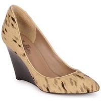 Pantofi Femei Pantofi cu toc Belle by Sigerson Morrison HAIRMIL Bej / Negru