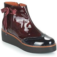 Pantofi Femei Ghete Fericelli JANDICI Roșu-bordeaux