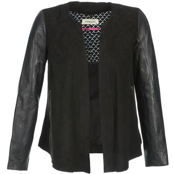 Îmbracaminte Femei Jachete din piele și material sintetic Naf Naf COCOTTE Negru