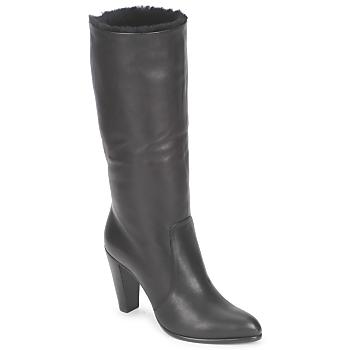 Pantofi Femei Cizme casual Michel Perry CALF Nero