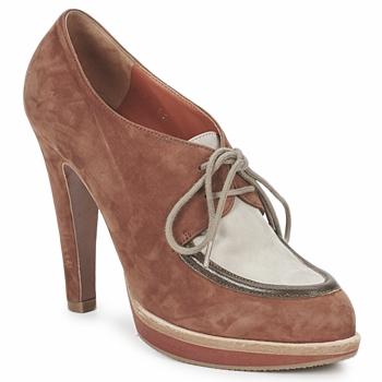 Pantofi Femei Botine Michel Perry SADDLE  saddle-madras