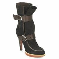 Pantofi Femei Botine Michel Perry WILD  madras-brown