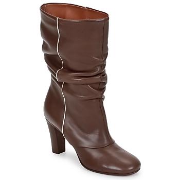 Pantofi Femei Botine Michel Perry SAHARA Khaki