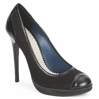 Pantofi Femei Pantofi cu toc Pollini PA1010  lima-lana-nero