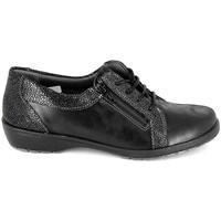 Pantofi Femei Pantofi Derby Boissy Derby 80069 Noir Negru