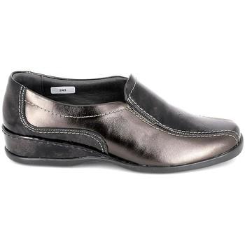 Pantofi Femei Balerin și Balerini cu curea Boissy Sneaker 4007 Marron Maro