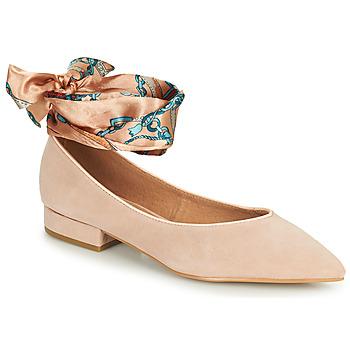 Pantofi Femei Balerin și Balerini cu curea Karston KEBEC Roz