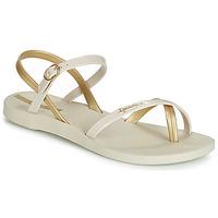 Pantofi Femei Sandale  Ipanema FASHION SANDAL VII Bej / Auriu