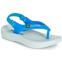 Pantofi Copii Sandale și Sandale cu talpă  joasă Ipanema ANATOMIC SOFT BABY Albastru / Alb