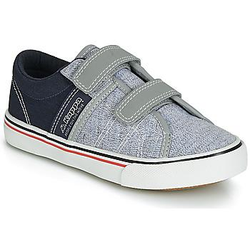 Încăltăminte Băieți Pantofi sport Casual Kappa CALEXI V Gri / Bleumarin