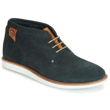 Pantofi Bărbați Ghete Base London BUSTER Bleumarin
