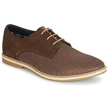 Pantofi Bărbați Pantofi Derby Base London KINCH Maro