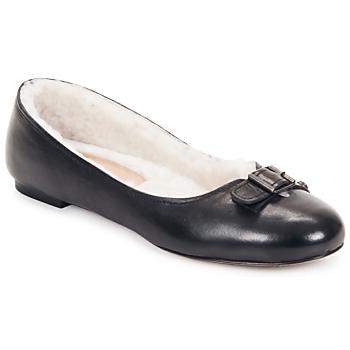 Pantofi Femei Balerin și Balerini cu curea Keyté ASTOR Negru