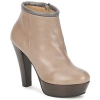 Pantofi Femei Botine Keyté POULOI Taupe