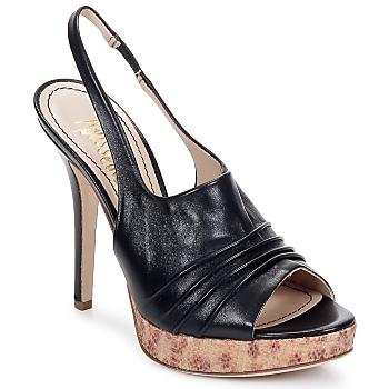 Pantofi Femei Sandale și Sandale cu talpă  joasă Jerome C. Rousseau CAMBER Black