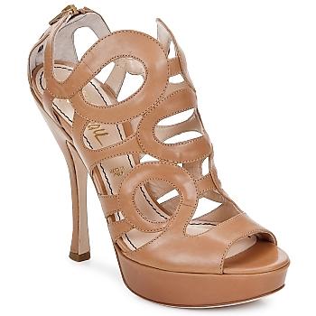 Pantofi Femei Sandale și Sandale cu talpă  joasă Jerome C. Rousseau ISY Camel